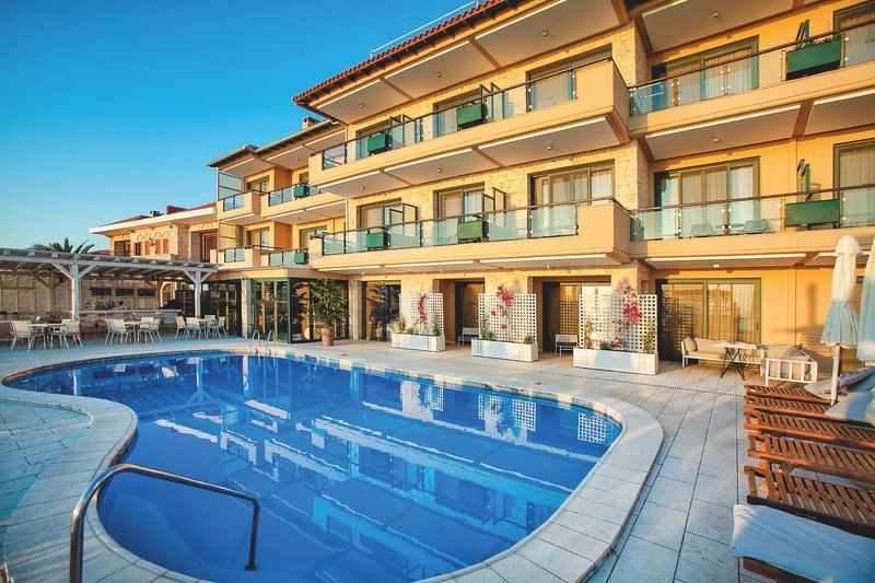 Rigas Boutique Hotel Chalkidiki - Am Pool entspannen