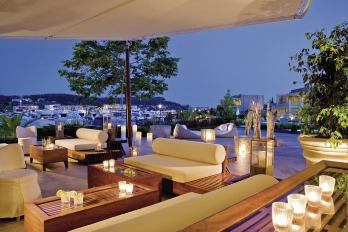 Abends in der Chillout Area