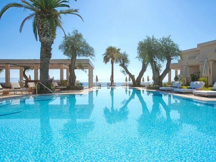 Domes Miramare 5-Sterne - Am wunderbaren Pool