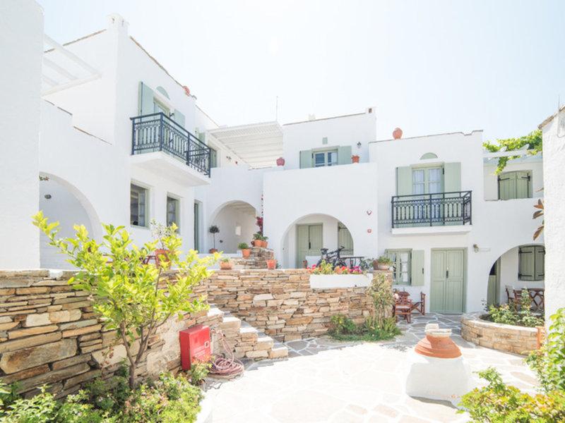 Nastasia Village Naxos - Im Innenhof