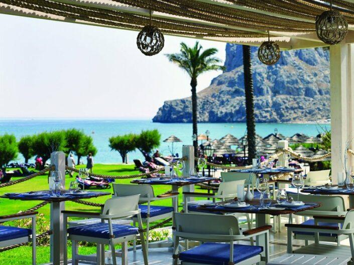 TUI BLUE Atlantica Imperial Rhodos - Im Restaurant mit tollem Meerblick