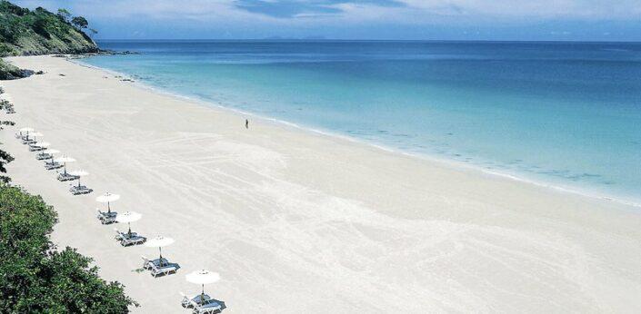 Pimalai Resort Koh Lanta - Am wunderbaren Strand mit viel Platz und Raum