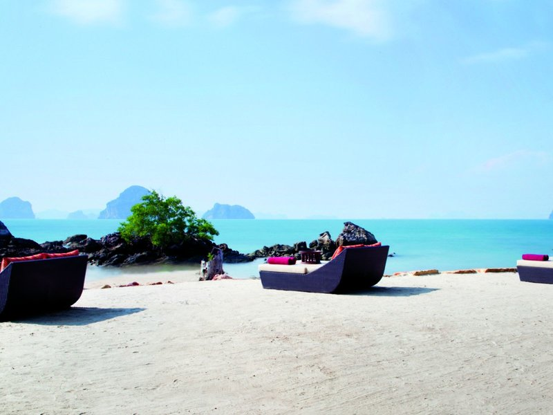 Allein zu Zweit am wunderbaren Strand