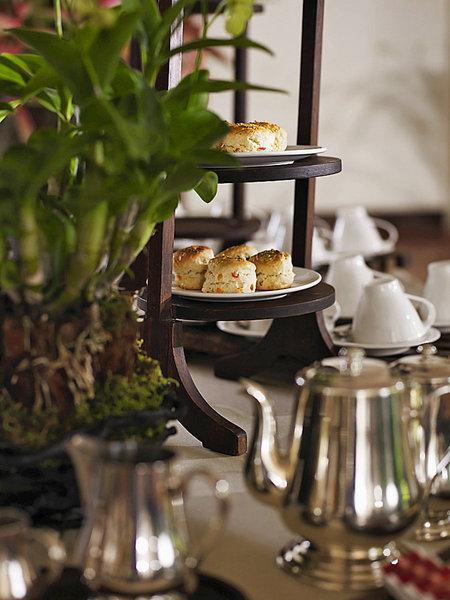 Rayavadee Krabi Thailand - Beim Frühstück, oder doch Teatime