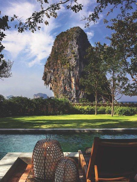 Rayavadee Krabi Thailand - Tolle Umgebung, Spass für die Augen