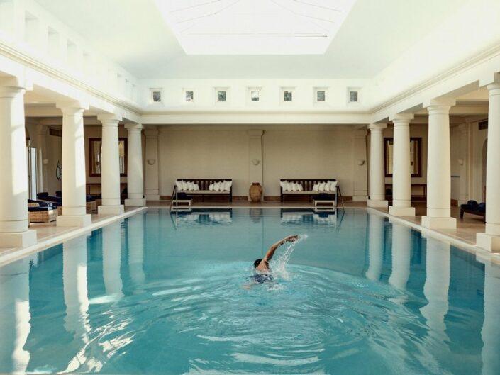 Anassa Luxushotel Zypern - Im grossen Indoorpool