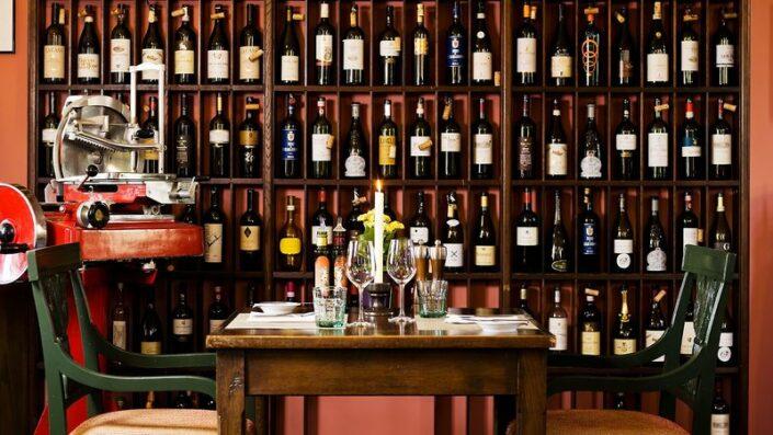 Althoff Grandhotel Schloss Bensberg - In der Winery zu Abend essen