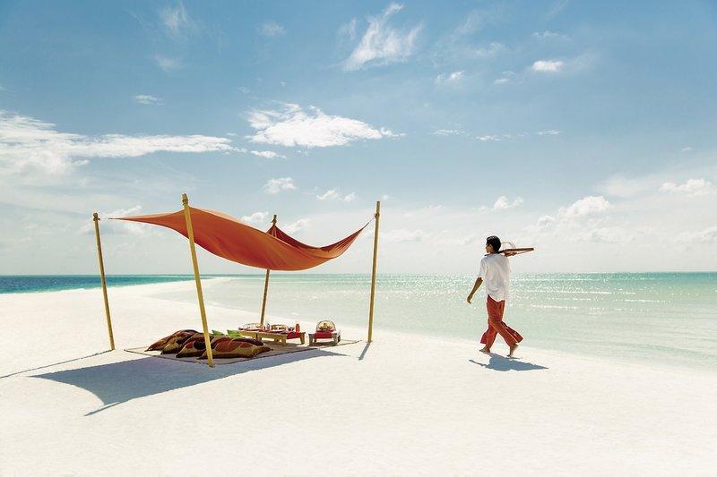 COMO Cocoa Island Luxusresort - Lunch für zwei am Strand