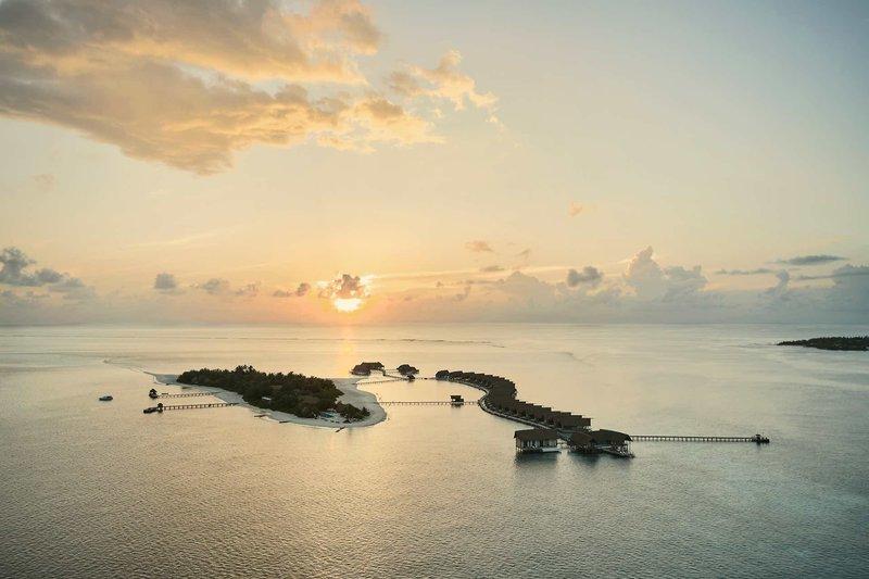 Sonnenuntergang über den Malediven