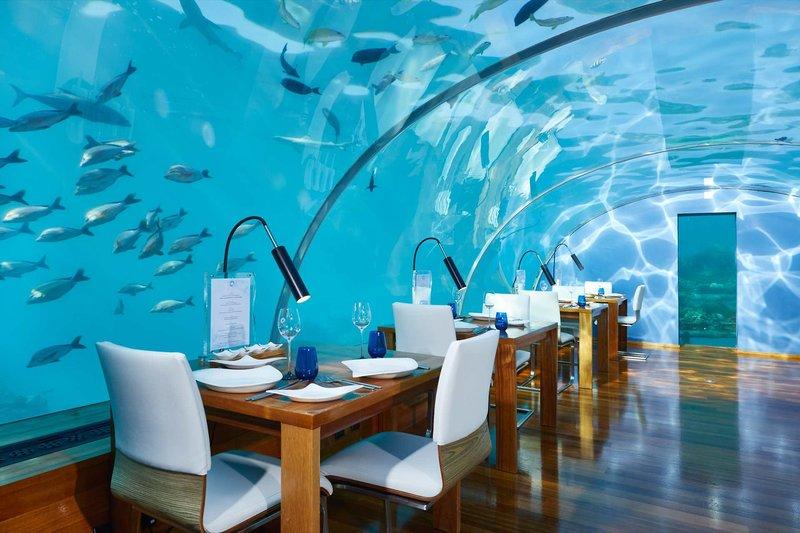 Im Unterwasser Restaurant