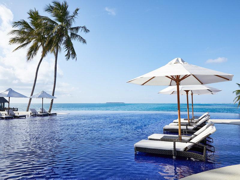 Am wunderbaren Infinity Pool entspannen