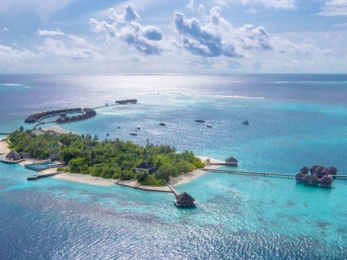 Blick auf das tolle Resort
