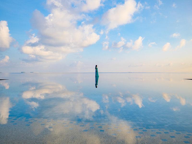 Spaziergang auf dem Wasser ?