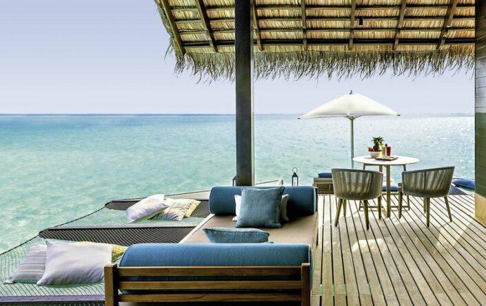 ONE&ONLY Malediven - Entspannung über dem Meer