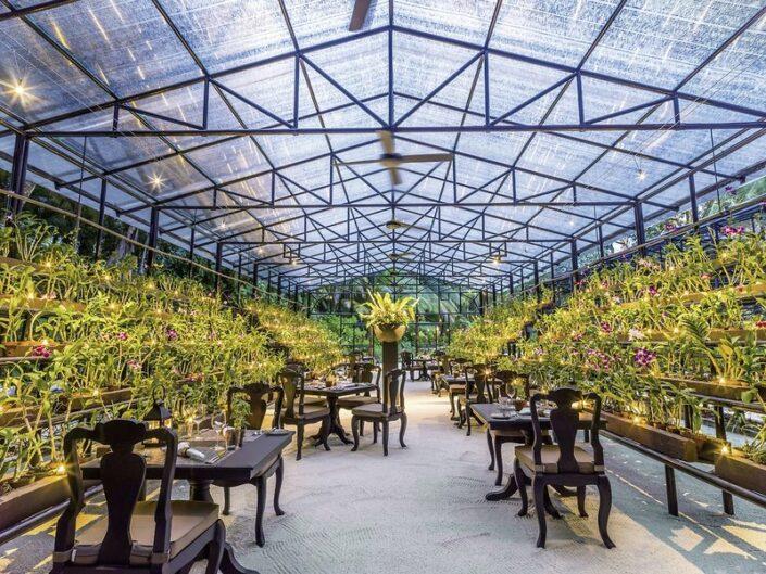ONE&ONLY Malediven - Im Pflanzen Restaurant