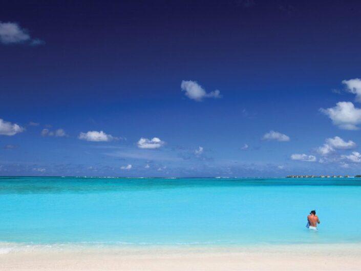 Der wundervolle Ozean vor der Insel