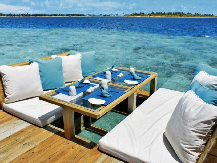 Dinner im Meer
