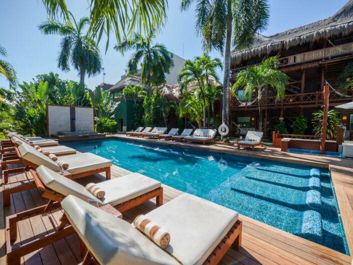 Magic Blue Hotel Yucatan - Am Pool entspannen