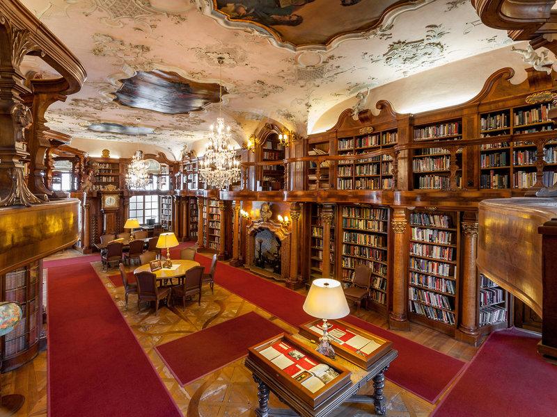 Schloss Leopoldskron Österreich - Die phantastische Bibliothek