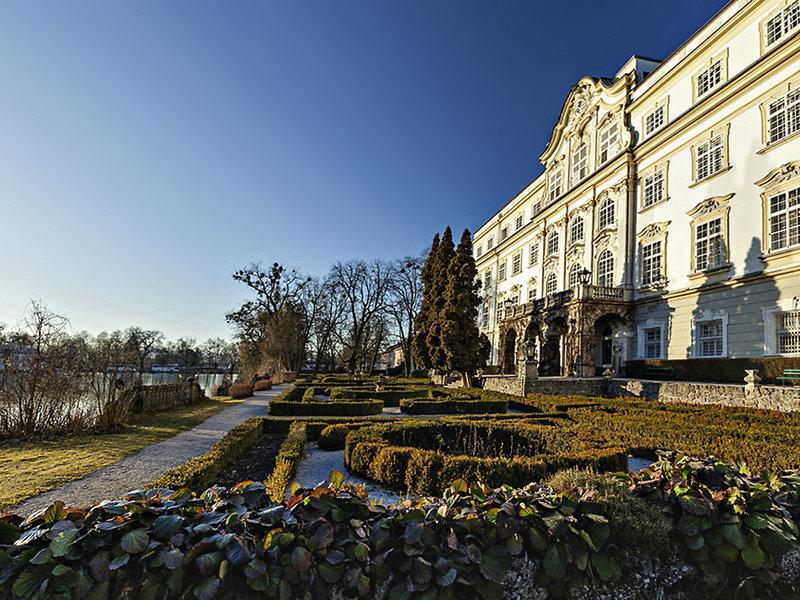 Schloss Leopoldskron Österreich - Im Garten