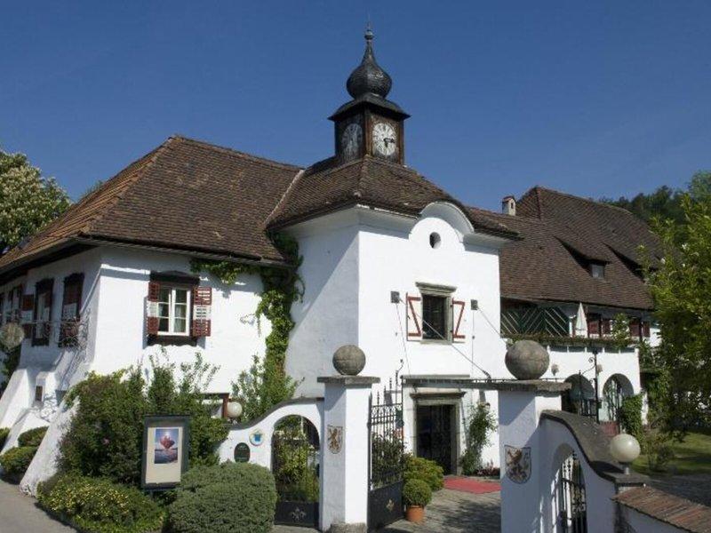 Schloss Leonstain Österreich - Angekommen am Schloss