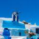 Urlaub in den Wolken auf Santorin