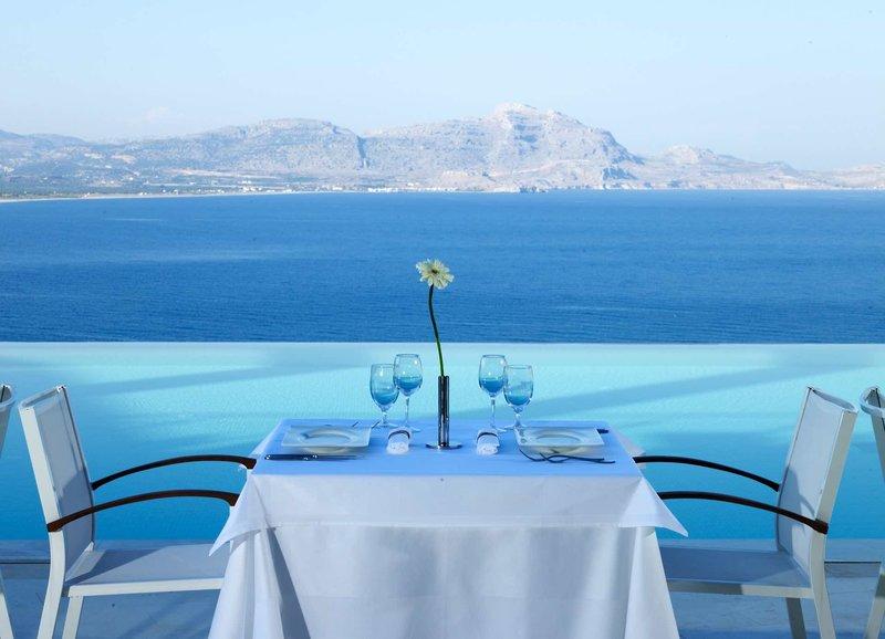 Lindos Blu Luxury Rhodos - Romantisches Dinner zu Zweit