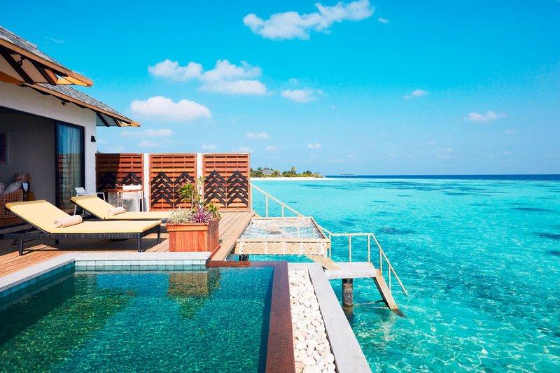 Amari Havodda Malediven - In der Wasservilla mit direktem Zugang zum Ozean