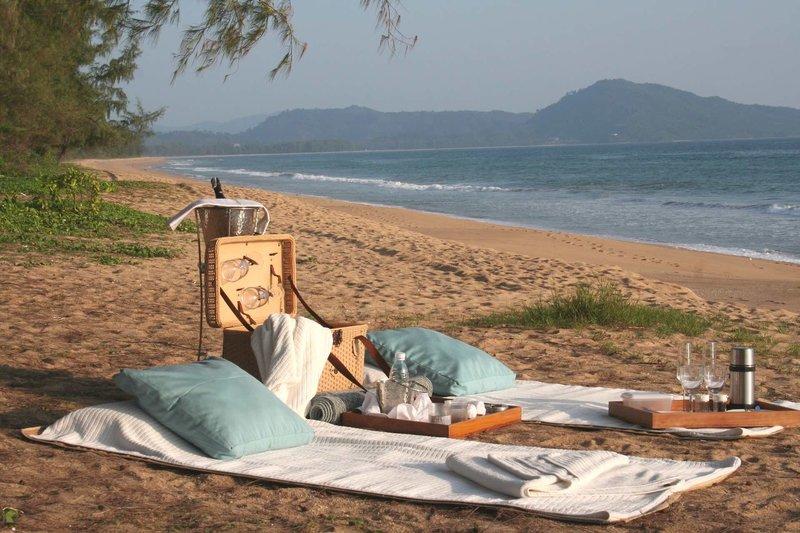 Hotel Sala Beach Phuket - Picknick am Strand