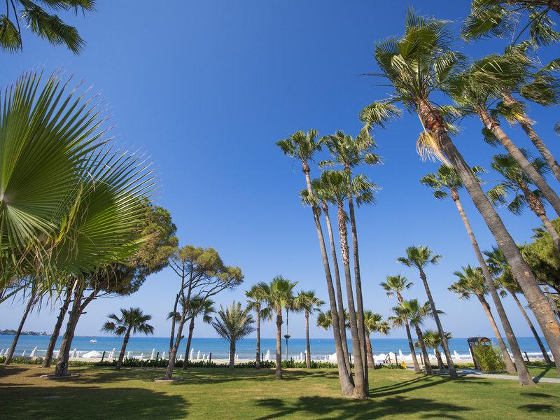 Garten, Strand und Meer