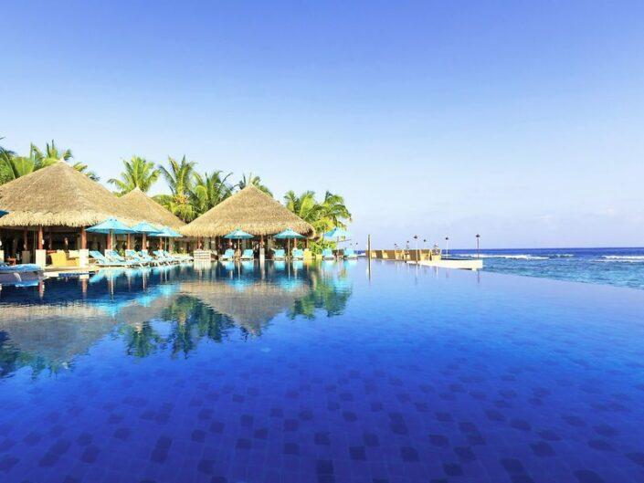 Anantara Veli Resort Kaafu - Am prachtvollen Infinitypool