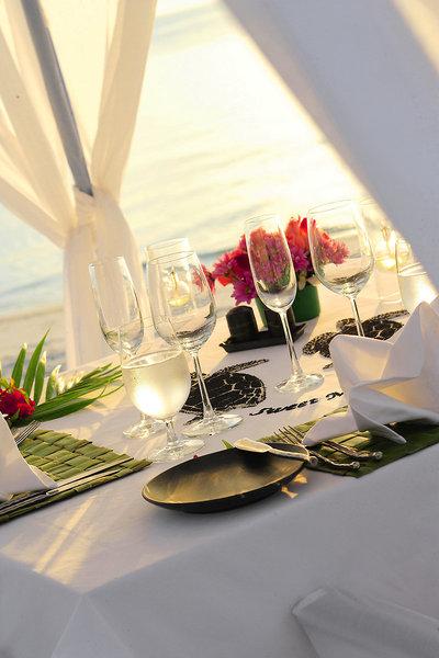 Anantara Veli Resort Kaafu - Zum Lunch ist alles vorbereitet