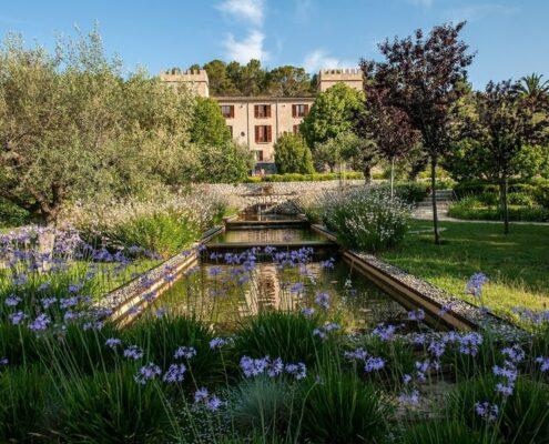 Castell Son Claret Mallorca - Im Garten am Teich
