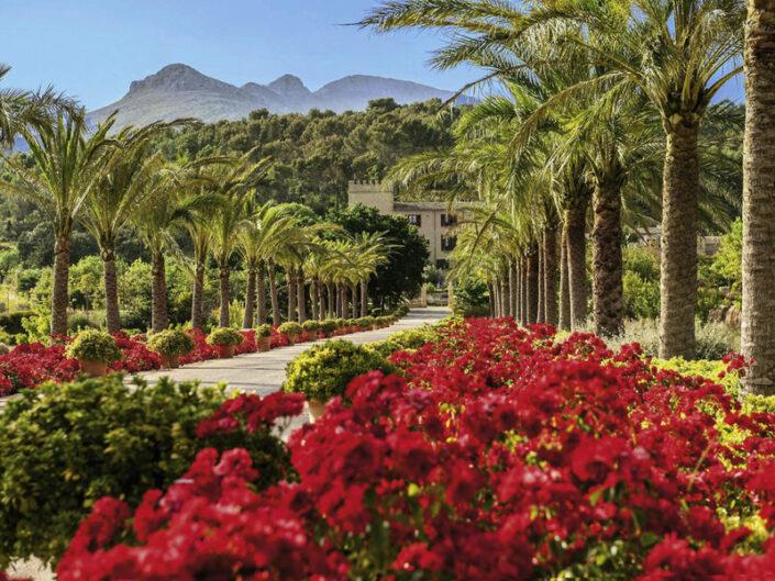 Castell Son Claret Mallorca - Ein Spaziergang im Anwesen